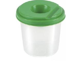 Ecsettál zöld fedéllel
