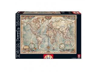 Educa Antik világtérkép, 1500 darabos kirakó
