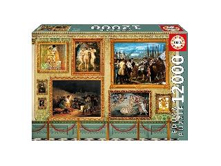 Educa Múzeumi mesterművek puzzle, 12000 darabos