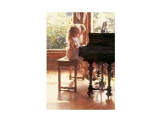 Educa Zongorázó kislányok puzzle, 1500 darabos
