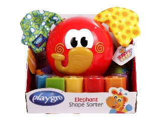 Elefántos bébijáték