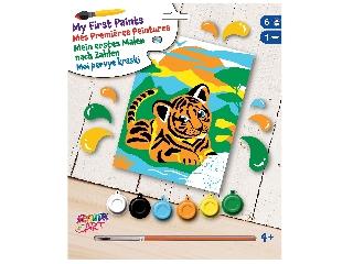 Első festhető képem - Tigris
