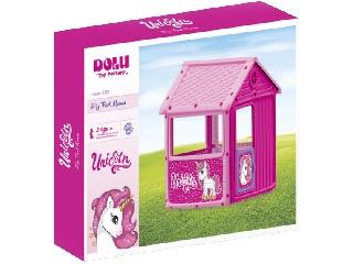 Első játszóházam - rózsaszín, 100 x 104 x 125 cm
