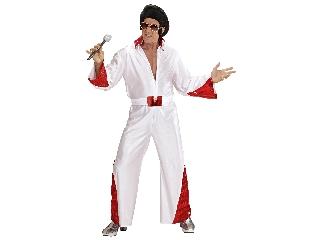 Elvis a király jelmez XL -méret