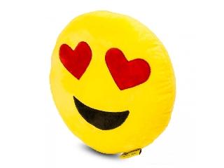 Emoji szerelmes nagypárna 50cm