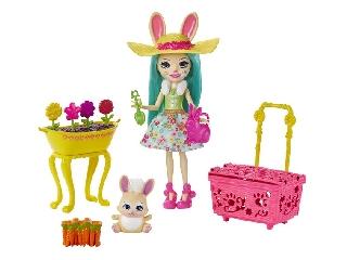 Enchantimals baba kiegészítőkkel Bunny Blooms