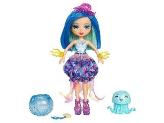 Enchantimals baba kis vízi állatkával - Jessa Jellyfish és Marisa