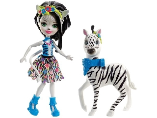 Enchantimals baba zebrával - Zelena Zebra és Hoofette