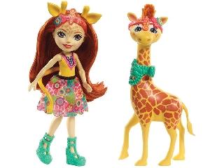 Enchantimals baba zsiráffal - Gillian Giraffe és Pawl
