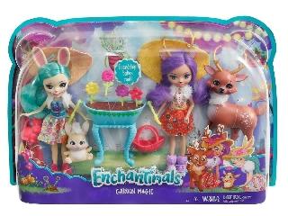 EnchanTimals babák 2-es csomag - Danessa Deer és Fluffy Bunny