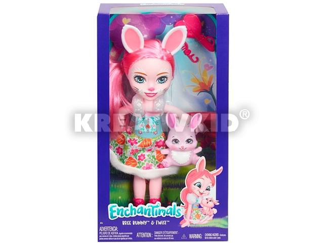 Enchantimals nagy méretű baba - Bree Bunny