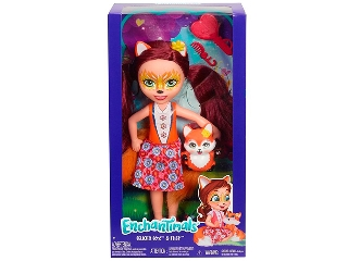 Enchantimals nagy méretű baba - Felicity Fox