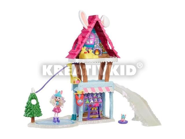 Enchantimals: Téli üdülő központ Bevy Bunny babával