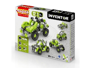 Engino Inventor autók - 12 in 1 autó modell