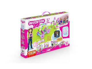 Engino Inventor Girl 30 az 1-ben motorizált modellek építőjáték