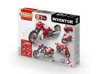 Engino Inventor motorok - 12 in 1 autó/motor modell