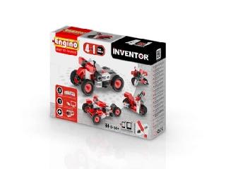 Engino Inventor motorok - 4 in 1 autó/motor modell