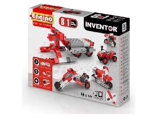 Engino Inventor motorok - 8 in 1 autó/motor modell
