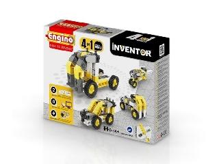 Engino Inventor munkagépek - 4 in 1 munkagép modell