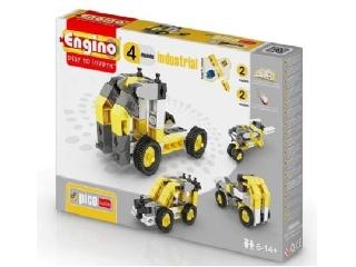 Engino Inventor munkagépek - 8 in 1 munkagép modell