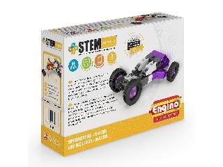 Engino Stem Heroes gyorshajtású járművek: Racer építőjáték