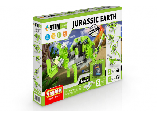 Engino stem Jurassic earth-motorizált