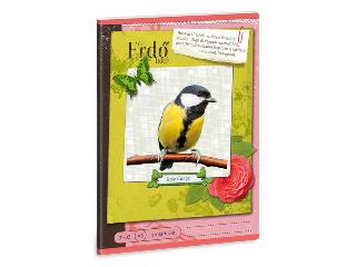 Erdő - Széncinege A/5-ös szótárfüzet