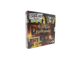 Escape room Kiegészítő játék - Rejtélyes gyilkosság