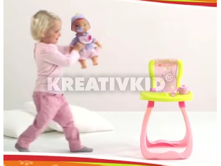 Ringass el Poci baba etetőszékkel és kiegészítőkkel