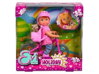 Evi Love: baba kerékpárral