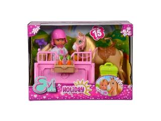 Évi Love: baba lóval