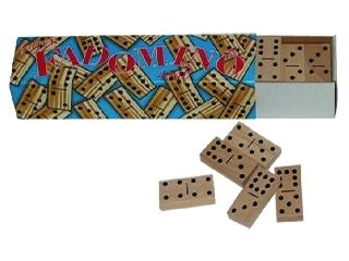 Fa dominó 45 darabos