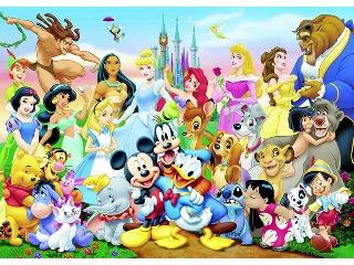 Disney világa - 100 darabos fakirakó