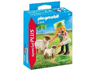 Playmobil - Farmerlány báránykákkal