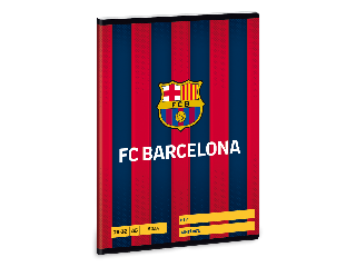 FC Barcelona A/5 sima füzet 2032