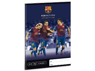 FC Barcelona II.oszt. A/5-ös vonalas füzet