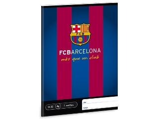 FC Barcelona I.oszt. A/5-ös vonalas füzet