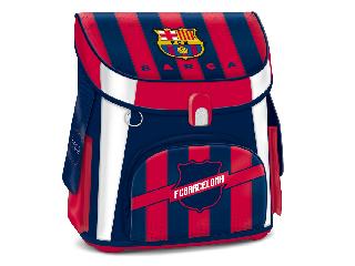 FC Barcelona mágneszáras iskolatáska + ajándék Activity Family társasjáték