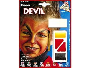 Figurás farsangi arcfesték - Ördög