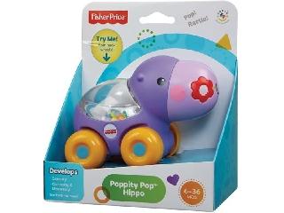 Fisher Price - Poppity állatos jármű - víziló