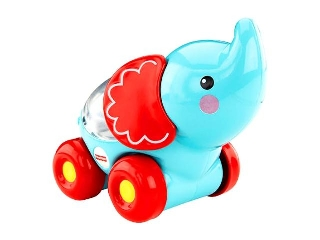 Fisher Price - Poppity állatos jármű - elefánt