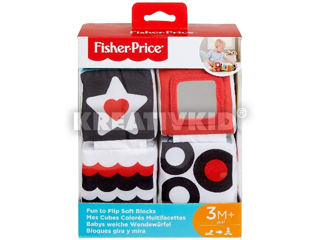 Fisher Price Hajtogatható puhakockák