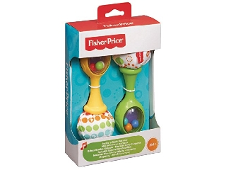 Fisher-Price - Csörgő rumbatökök