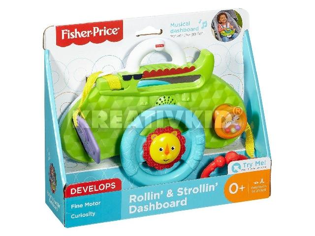 Fisher-Price - Játékos műszerfal