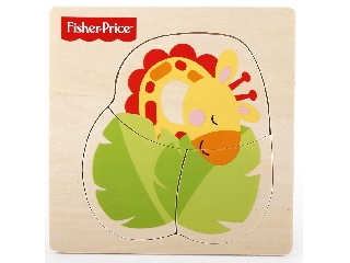 Fisher-Price állatos fa puzzle - Zsiráf
