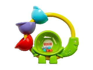 Fisher-Price: teknősös csörgő