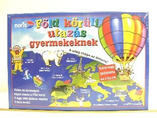 Föld körüli utazás gyermekeknek