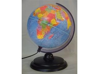Földgömb, 25 cm - átvilágító Duó