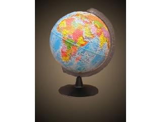 Földgömb 16 cm, politikai színezéssel