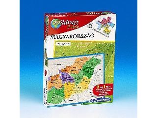Földrajz puzzle Magyarország (Clementoni)